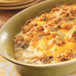 Potato Sausage Casserole Recipe