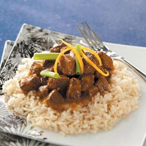 Asian Orange Beef Recipe