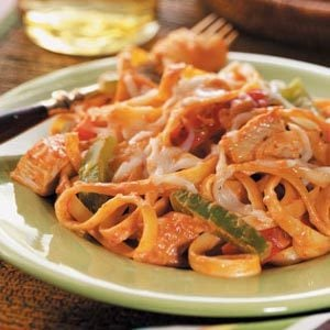Cajun Chicken Fettuccine Recipe