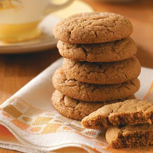 Lara's Tender Gingersnaps Recipe