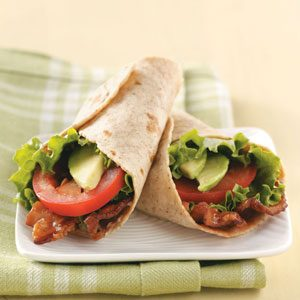 Zippy BLT Wraps