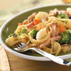 Ham and Broccoli Linguine Recipe