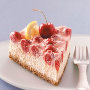 Makeover Cherry-Topped Cheesecake