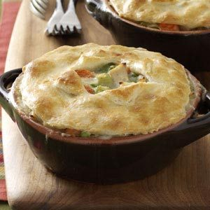 Makeover Chicken Potpies Recipe