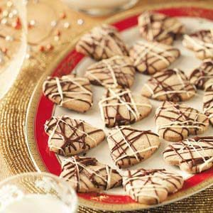Hazelnut Shortbread Hearts Recipe