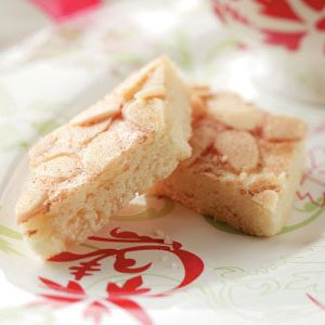 Diamond Almond Bars Recipe