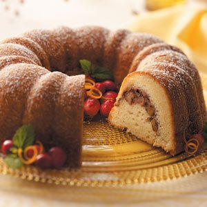 Walnut Cranberry Coffee Cake