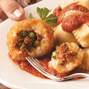 Arancini di Riso Recipe photo by Taste of Home