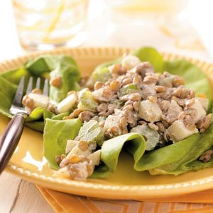 Waldorf Lentil Salad Recipe