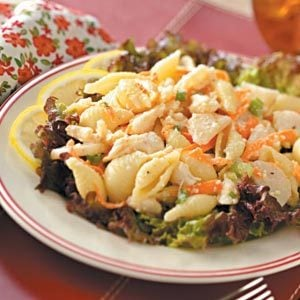 Crab Meat Pasta Salad Recipe
