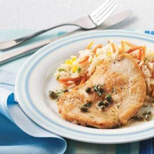 Turkey Piccata with Capers Recipe