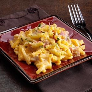 Ham Mac and Cheese Recipe