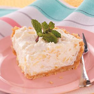 Pineapple Cheese Pie Recipe