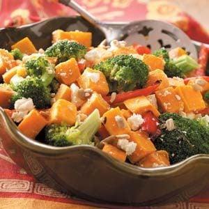 Broccoli & Sweet Potato Salad Recipe