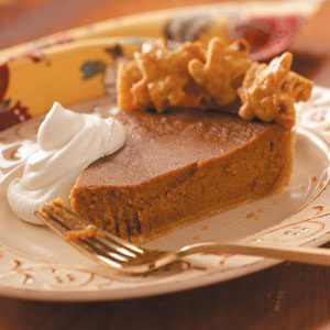 Autumn Apple Butter Pumpkin Pie Recipe