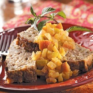 Curry-Apple Turkey Loaf Recipe
