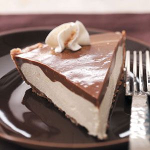 Makeover Chocolate Eggnog Pie Recipe