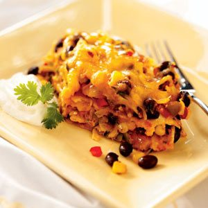 Vegetarian Enchilada Bake Recipe