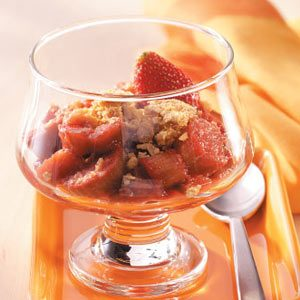 Strawberry-Rhubarb Crumble Recipe