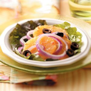 Olive Orange Salad Recipe