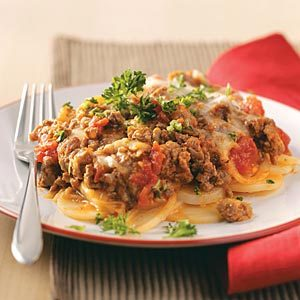 Potato Beef Lasagna Recipe