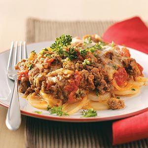 Potato Beef Lasagna Recipe