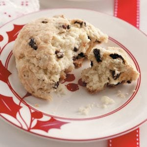 Ginger Currant Scones Recipe