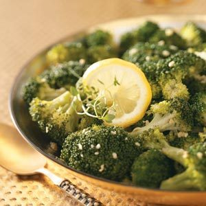 Lemon Broccoli with Garlic Recipe