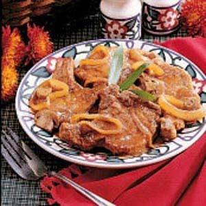 Pork Chops with Mushroom Gravy Recipe