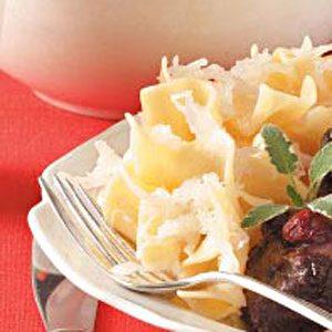 Noodles and Kraut Recipe