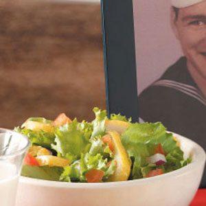 Spiced Pear Lettuce Salad Recipe