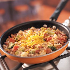 Vegetable Beef Skillet Recipe