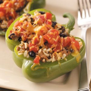 Vegetarian Tex-Mex Peppers Recipe