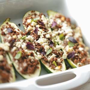 International Stuffed Zucchini