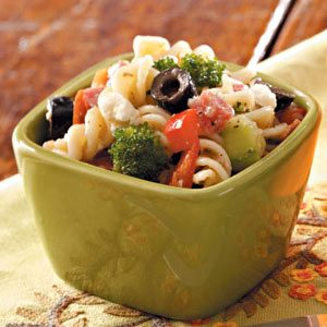 Hearty Pasta Salad for Two