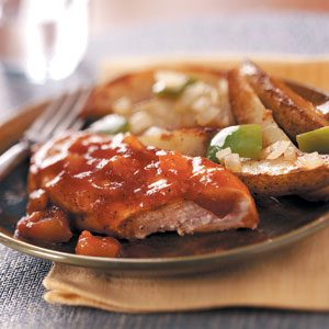 Applesauce Barbecue Chicken Recipe