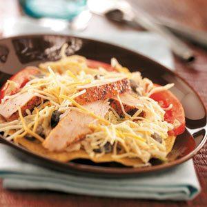 Chicken Tostada Salad Recipe photo by Taste of Home