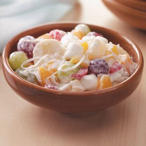 Quick Ambrosia Fruit Salad Recipe