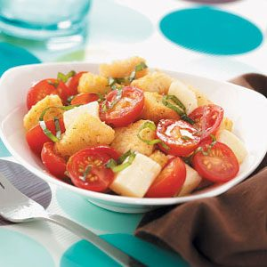 Zesty Crouton Salad Recipe