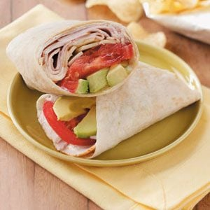 Ranch Turkey Wraps