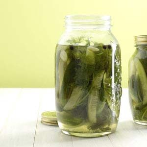 Easy Homemade Pickles Recipe