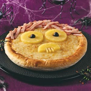 Spooky Pizza Recipe