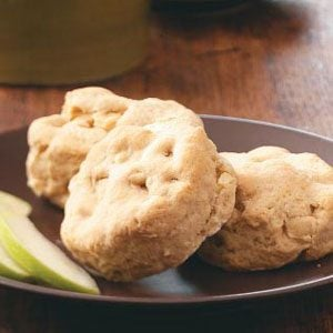 Buttery Apple Biscuits