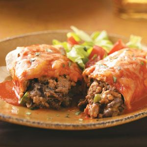 Turkey and Black Bean Enchiladas