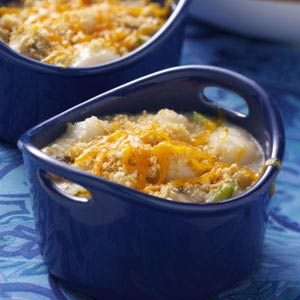 Mini Scallop Casseroles Recipe