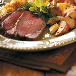Rosemary-Garlic Roast Beef Recipe