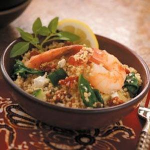 Mediterranean Shrimp Couscous Recipe