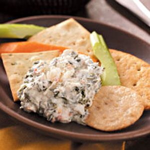 Spinach & Crab Dip Recipe