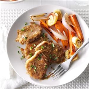 Pork Medallions in Mustard Sauce Recipe