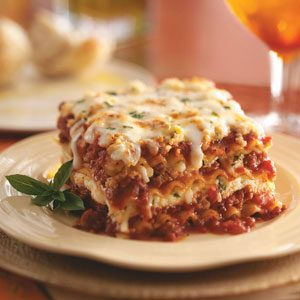 Lasagna Deliziosa Recipe photo by Taste of Home